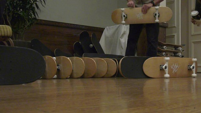 A central Virginia company is building skateboards for foster kids in Charlottesville.