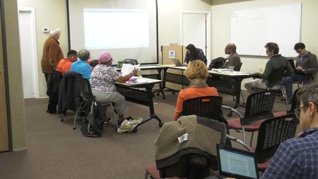 The board worked to finalize its bylaws on Oct. 29