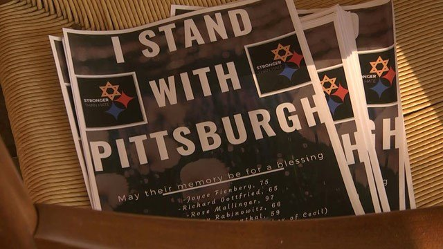 The council will host a letter-writing event to members of Pittsburgh's Jewish community.