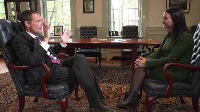 President Jim Ryan sat down with NBC29 to detail UVA's plan for free tuition.