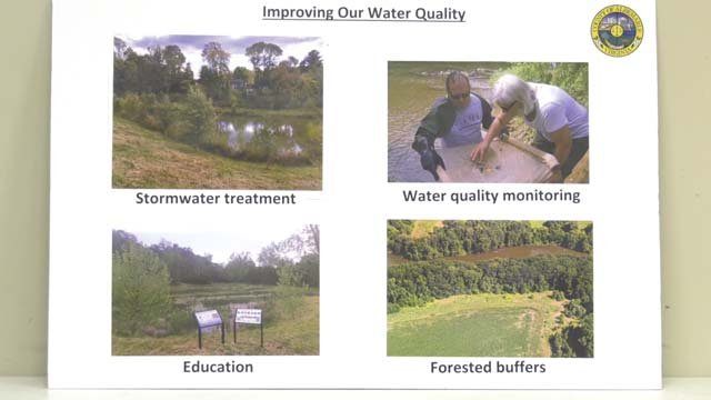 The DEQ is working to evaluate the river and streams' water quality