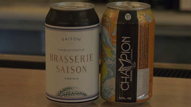 Brassie Saison on the Downtown Mall offers a variety of beer