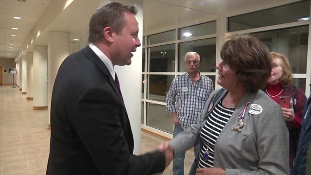 Corey Stewart rallied supporters in the valley on Nov. 1