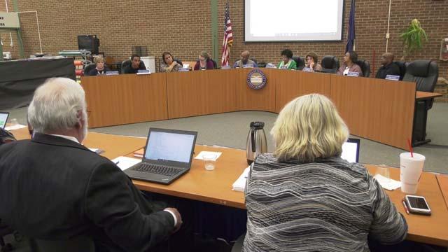 Charlottesville School Board meeting on Nov. 1