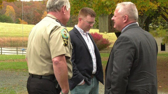 Denver Riggleman was in Fluvanna County on Friday.