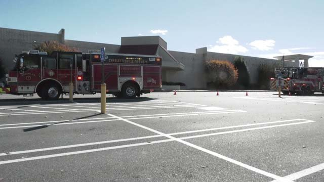 Crews responded to a burning smell at Fashion Square Mall