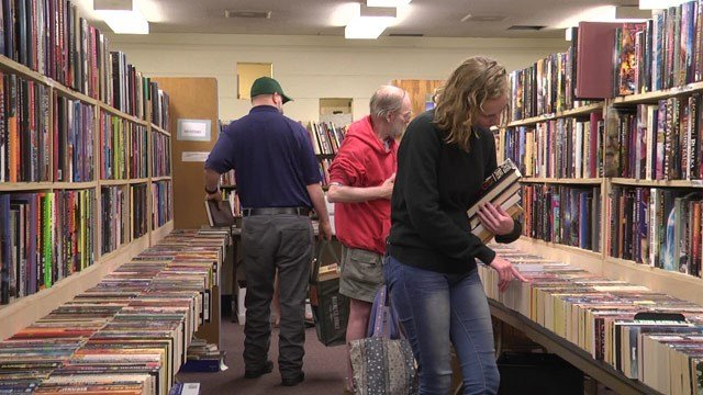The Gordon Avenue Library is holding its annual book sale.
