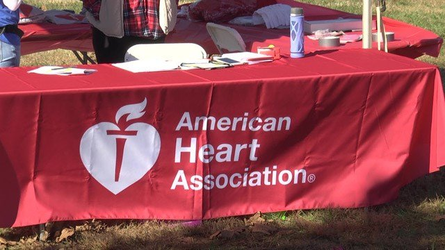 The walk benefits the American Heart Association.