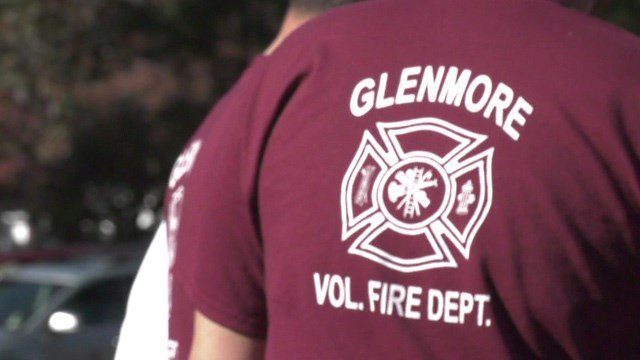 The Glenmore Volunteer Fire Department recognized its first responders on Sunday.