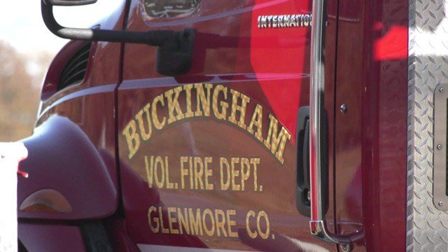 A Buckingham County Fire Department celebrated 50 years in service.