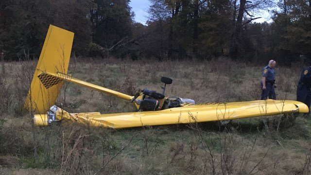There was one victim in a plane crash in Louisa County on Sunday.