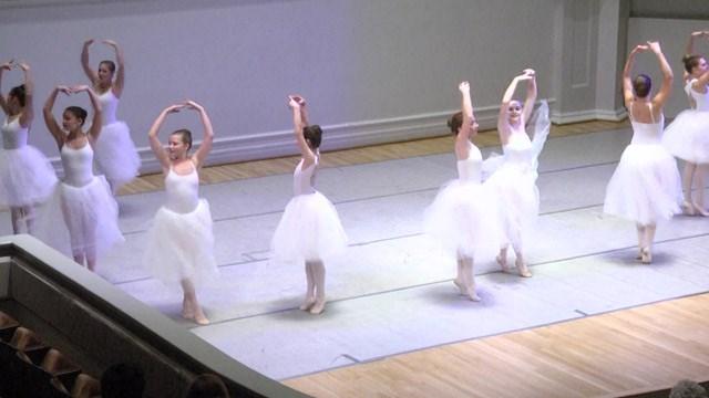 The Rhapsody Ballet Ensemble performed their annual Nutcracker show.