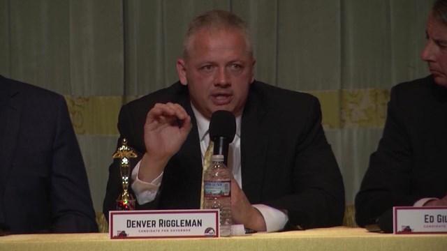 Republican Denver Riggleman.