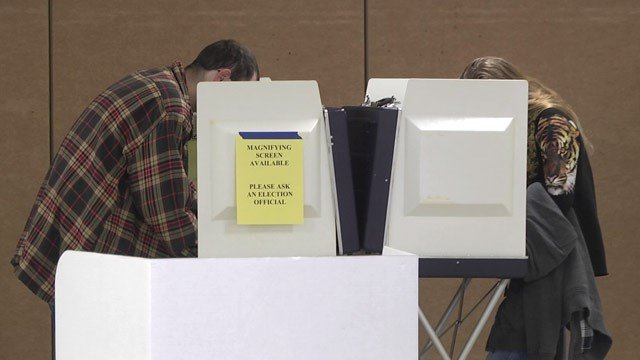 Voting in Charlottesville