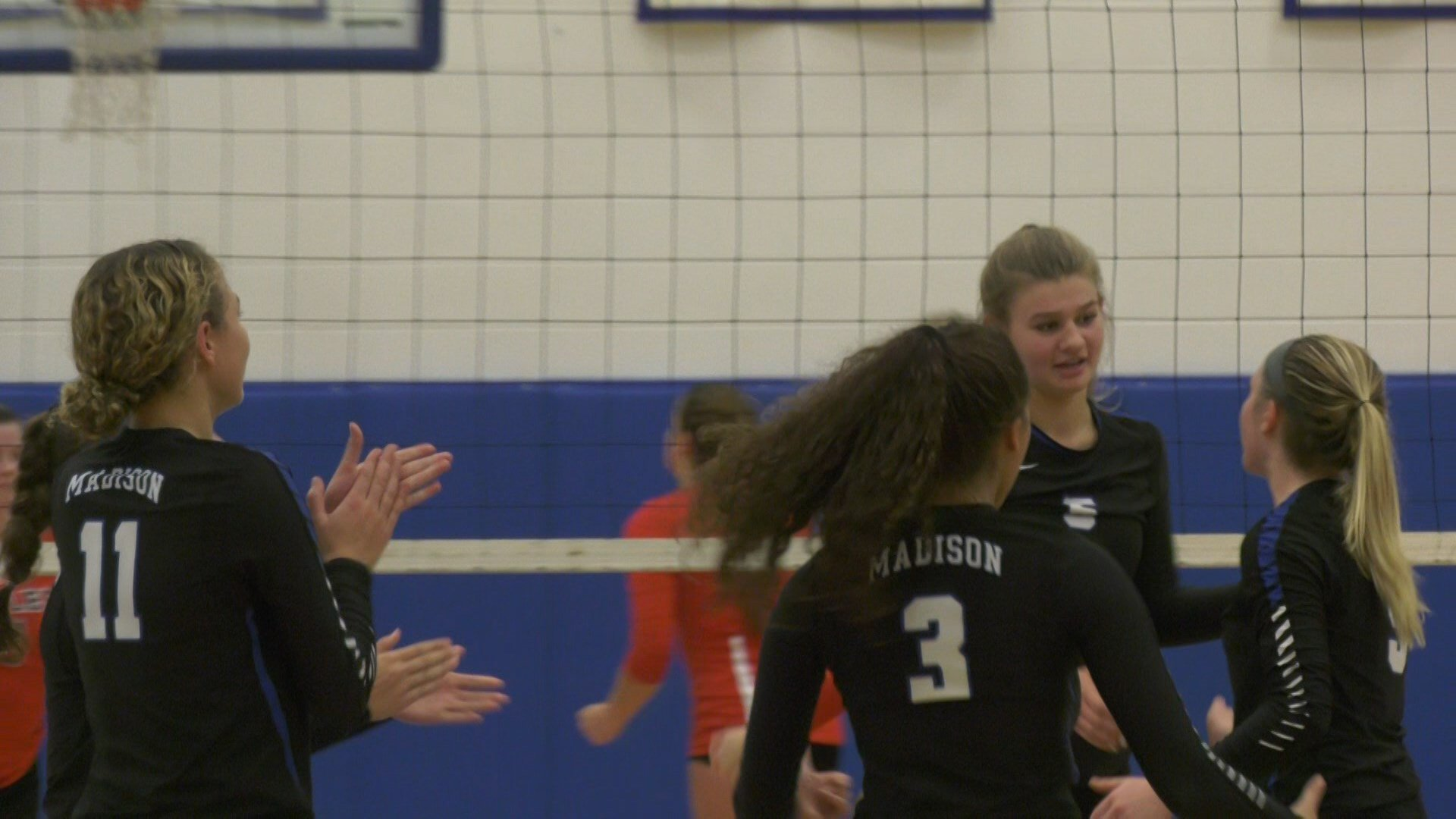 Madison County defeats East Rockingham in three games.