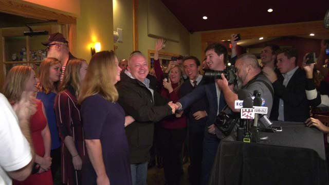 Republican Denver Riggleman has secured the 5th District seat