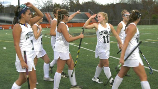 The Covenant field hockey team will play defending champion Cape Henry in the state semifinals on Friday