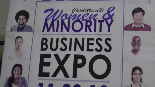The Women & Minority Business Expo was held in Charlottesville.
