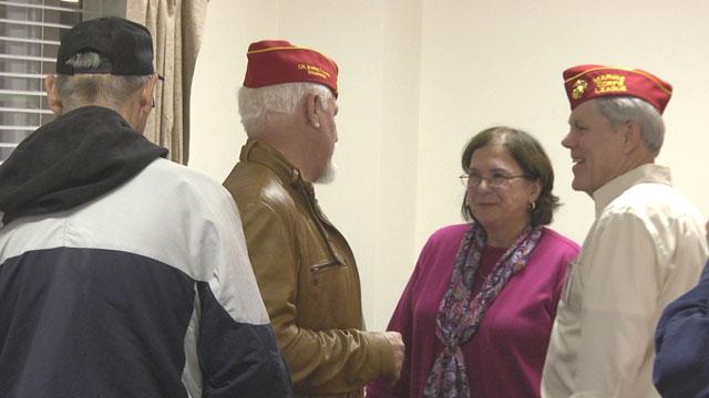 Marines hold celebration in Keswick