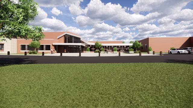 Plans for the high school renovation