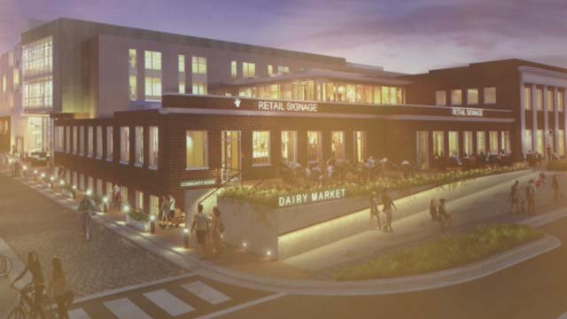 Plans for Dairy Central