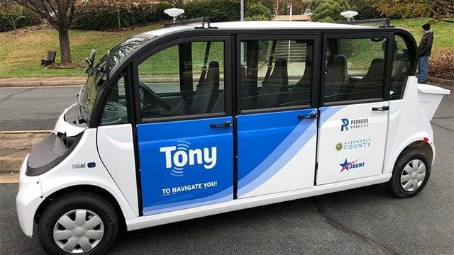 Autonomous Transit Shuttle