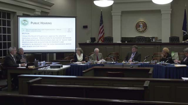 The county hopes to have the system running in a year and a half
