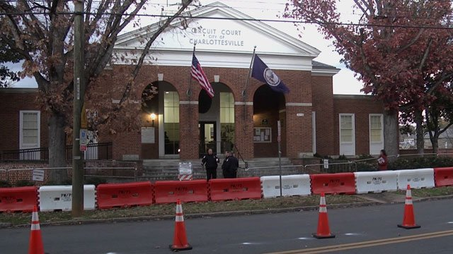 Security measures in place at Charlottesville Circuit Court