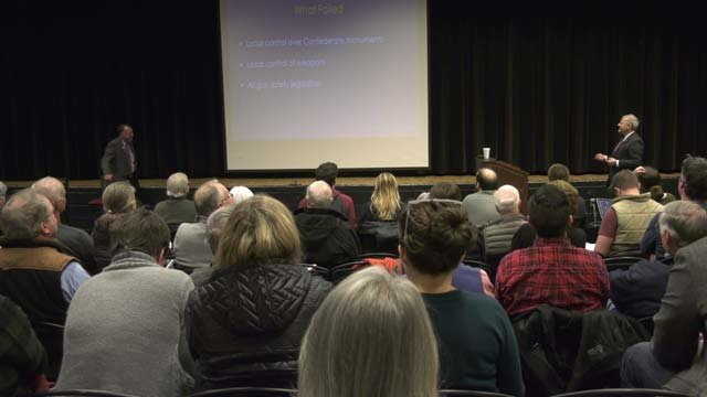 The two Democratic lawmakers held a town hall on Nov. 27