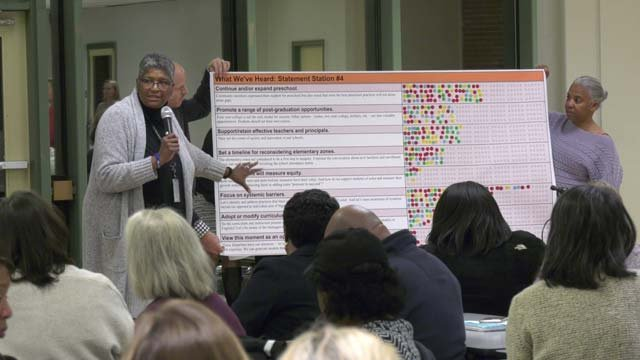 School administrators are working to close the achievement gap