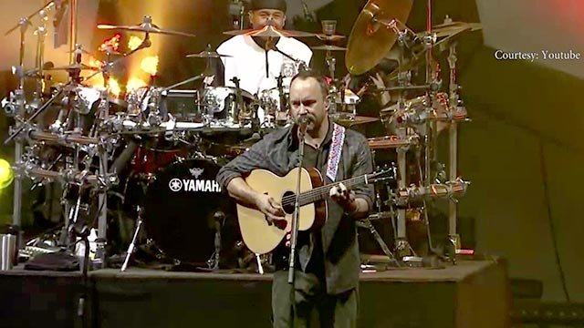 Dave Matthews Band in concert