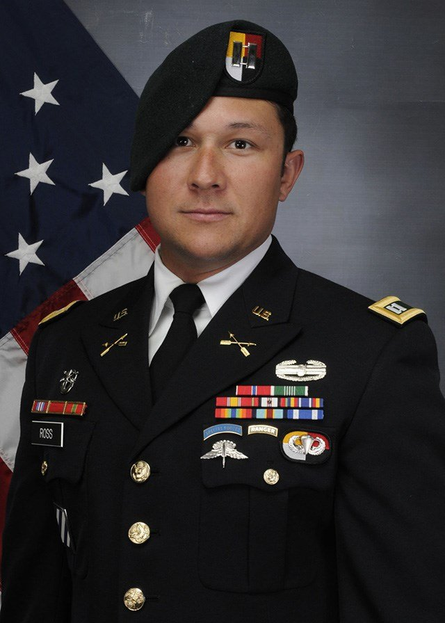 Army Captain Andrew Patrick Ross