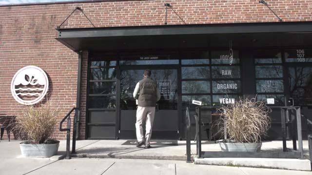 The Juice Laundry location on Preston Avenue