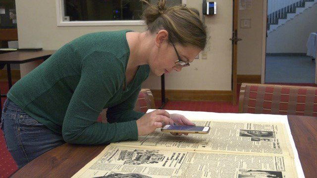 People at a UVA small collections library helped tell the story of black history on Friday.