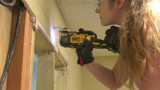 The women are with a UVA apprenticeship program