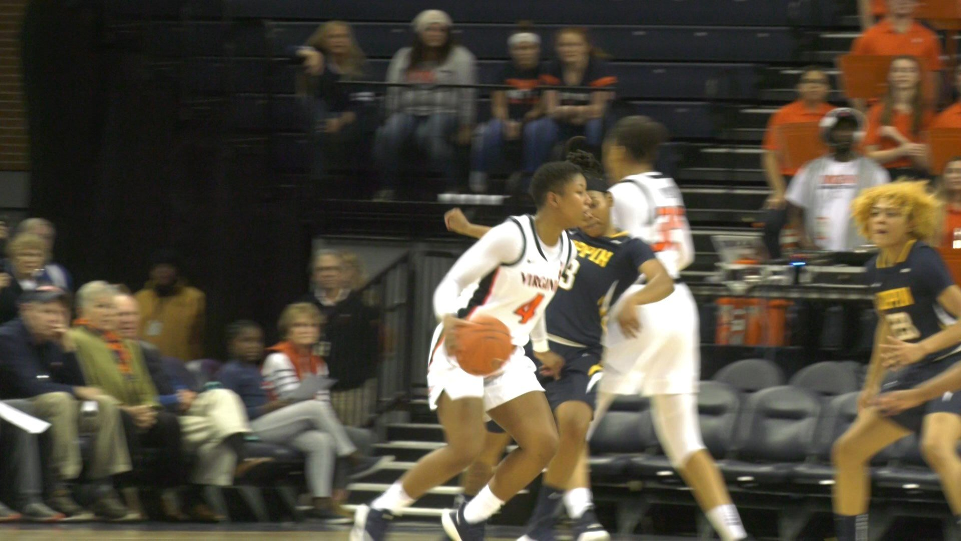 UVA defeats Coppin State at home.