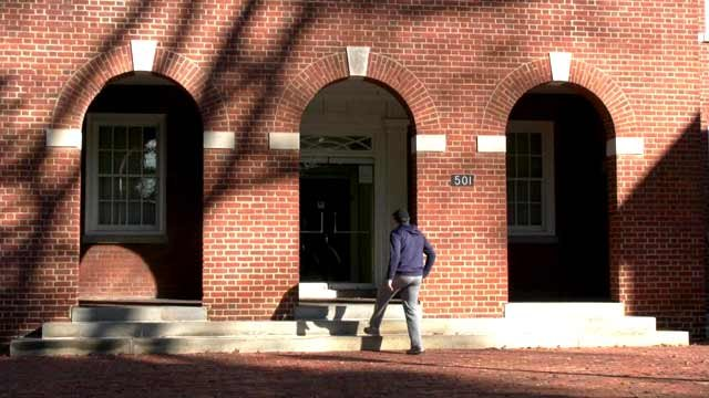 Albemarle County General District Court entrance.