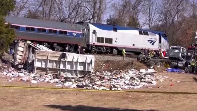 The collision occurred on January 31 in Crozet