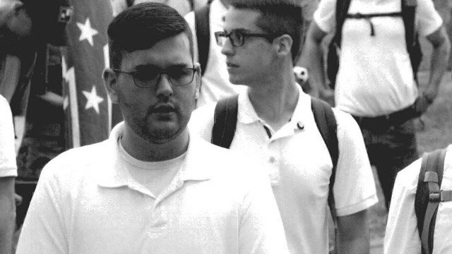 Evidence showing James A. Fields, Jr. at the Unite the Right rally