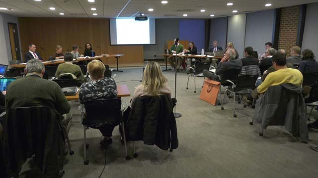 Councilors held a work session on December 6