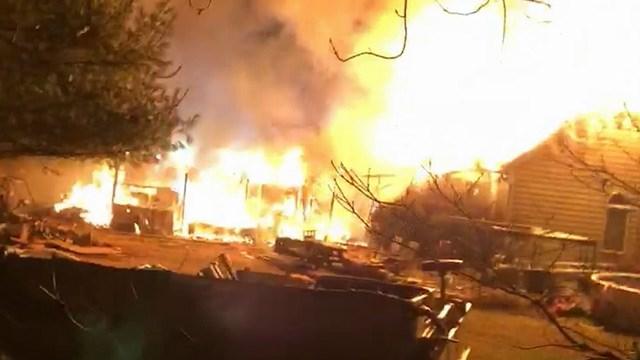 Shelton Mill Road house fire