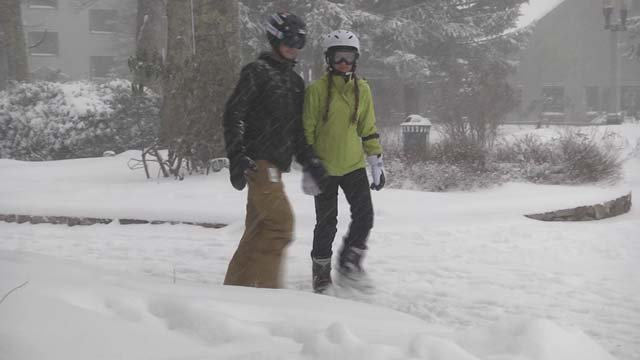 Wintergreen Resort officially opened on Dec. 8