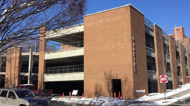 The Johnson Street Parking Garage will partially reopen next week.