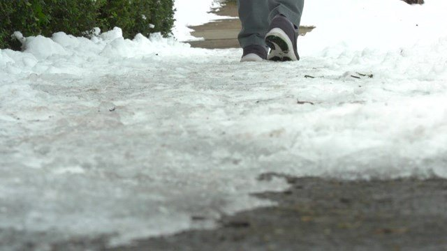 Charlottesville will begin warning people who haven't cleared ice from sidewalks on their property.
