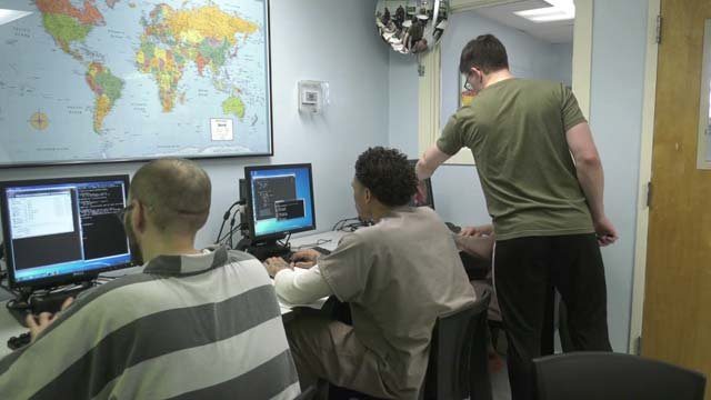 Two UVA grad students are teaching inmates to code
