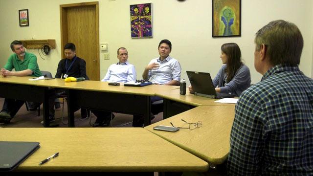 ADA committee meeting.