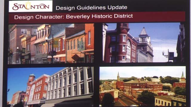 Staunton now has new guidelines for commercial buildings
