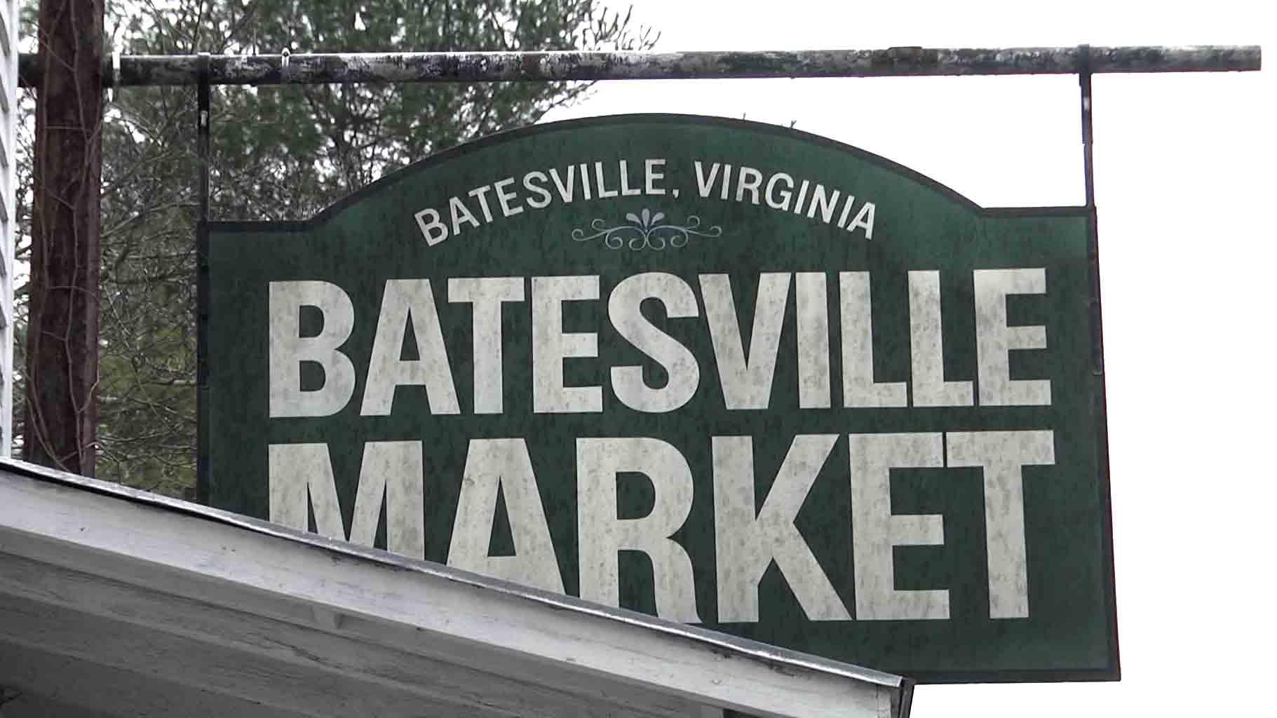 The Batesville Market sign.