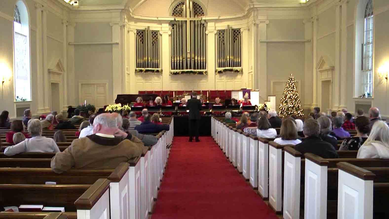 First Presbyterian Church concert.