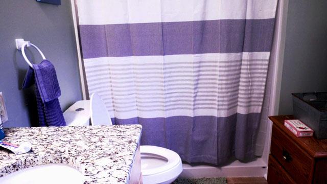 Quintin Croxton's new bathroom.